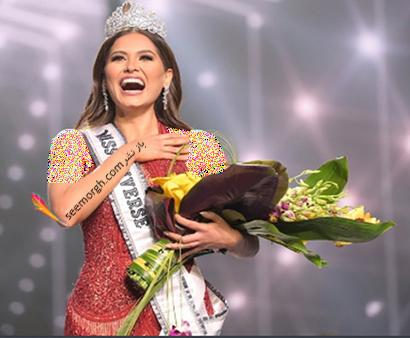 Andre Meza آندره برنده مراسم دختر شایسته Miss World 2021