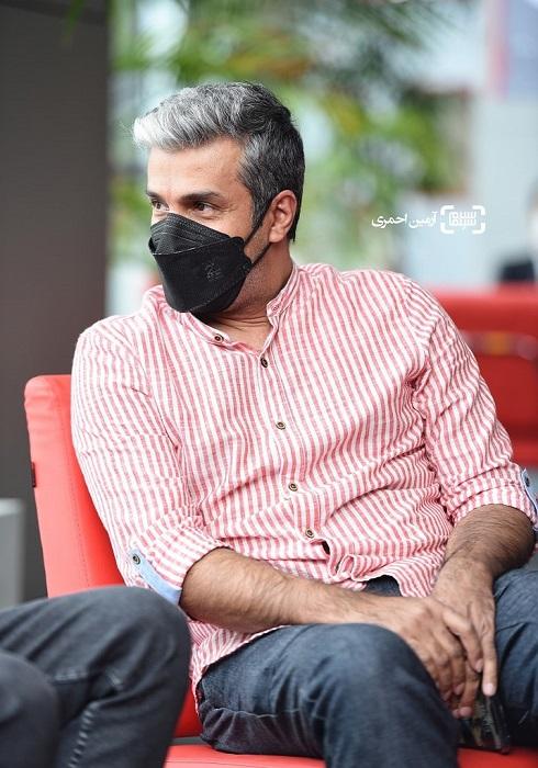آریا عظیمی نژاد در جشنواره جهانی فیلم فجر 1400