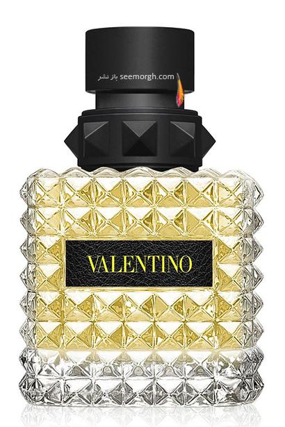 عطر زنانه Donna Born In Roma Yellow از برند Valentino برای تابستان 2021,17 عطر برتر زنانه برای تابستان 2021