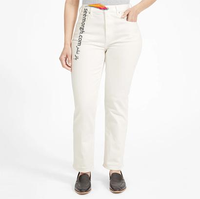 شلوار جین مام استایل از برند Mango, 7 مدل برتر شلوار جین مام استایل در دنیای مد 2021