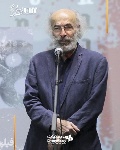کیانوش عیاری در جشنواره جهانی فیلم فجر 1400