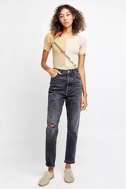 شلوار جین مام استایل از برند Diesel, 7 مدل برتر شلوار جین مام استایل در دنیای مد 2021