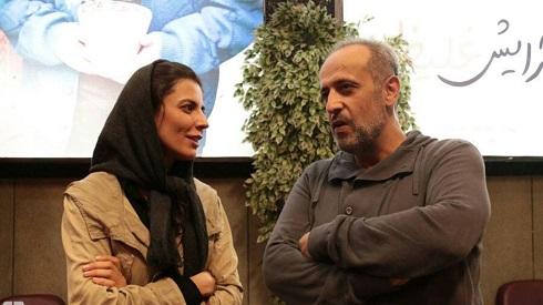 لیلا حاتمی و حمید نعمت الله کارگردان