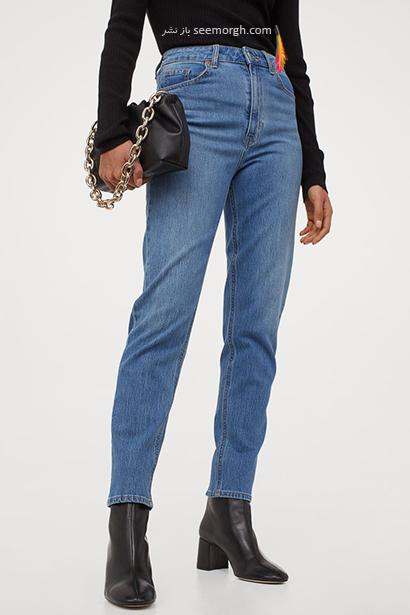شلوار جین مام استایل از برند Calvin Klein, 7 مدل برتر شلوار جین مام استایل در دنیای مد 2021