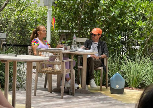 جنیفر لوپز و همسر سابقش مارک آنتونی