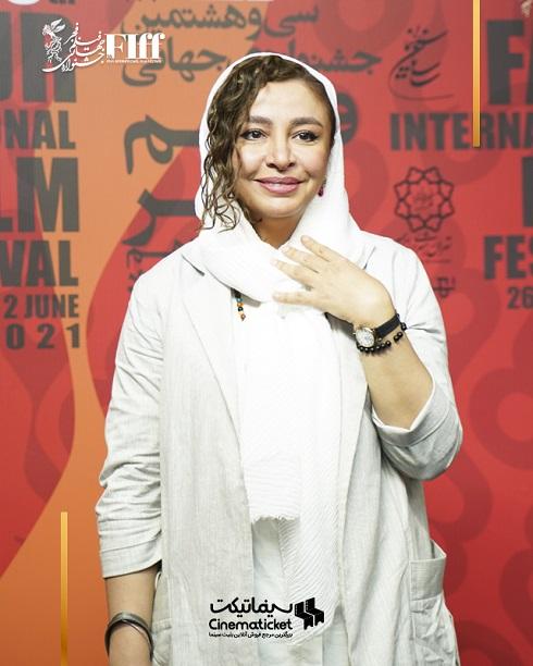 مه لقا باقری در جشنواره جهانی فیلم فجر 1400