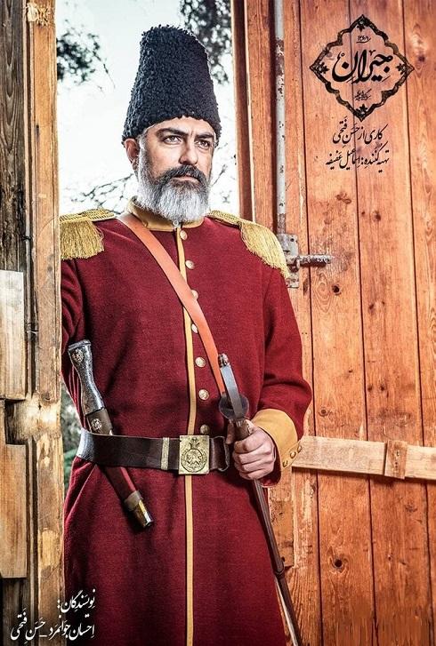 مهدی پاکدل در سریال عاشقانه تاریخی جیران