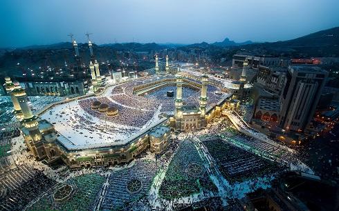 مسجد الحرام در مکه (عربستان سعودی)