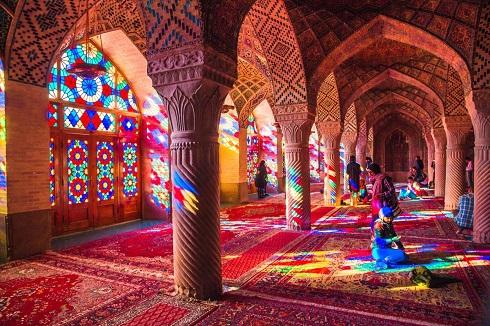 مسجد نصیر الملک در شیراز (ایران)
