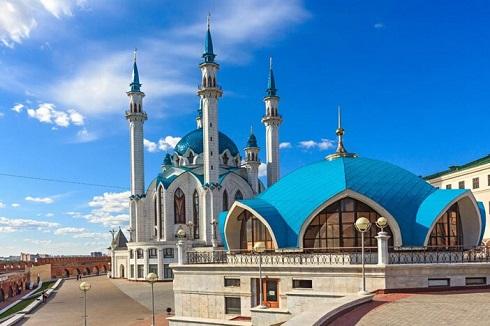 مسجد قلشریف در قازان (فدراسیون روسیه)