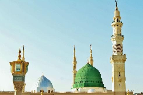 مسجدالنبی یا مسجد نَبوی در مدینه (عربستان سعودی)