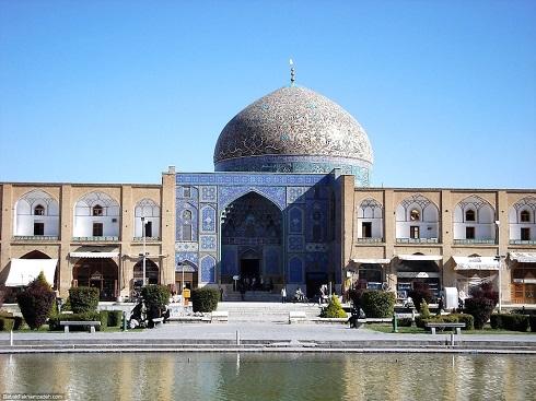 مسجد شیخ لطف الله در اصفهان (ایران)