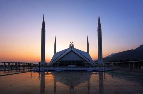 مسجد شاه فیصل در اسلام آباد (پاکستان)
