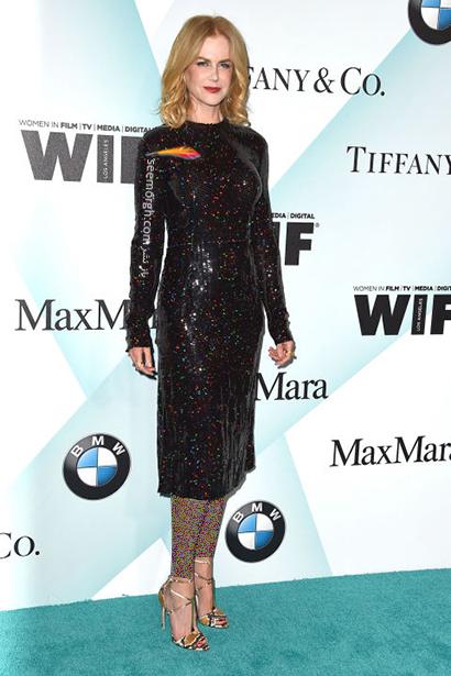 ست کردن لباس شب مشکی به سبک نیکول کیدمن Nicole Kidman,لباس شب,ست کردن لباس شب, لباس شب مشکی, ست کردن لباس شب مشکی