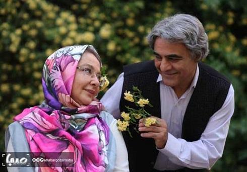 لاله صبوری و سیاوش چراغی پور در روزگار جوانی