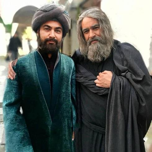 شهاب حسینی و پارسا پیروزفر در مست عشق
