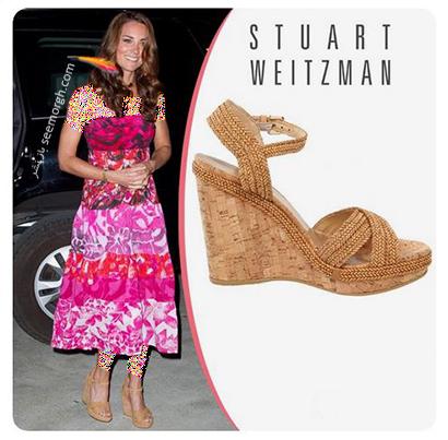 مدل کفش تابستانی به سبک کیت میدلتون Kate Middleton - مدل شماره 6