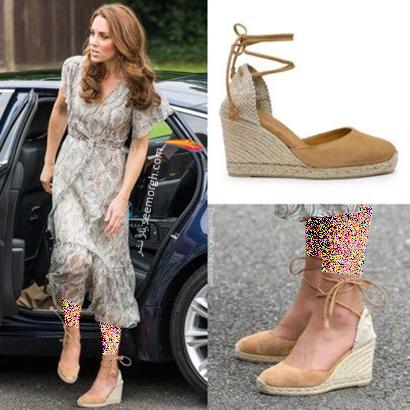 مدل کفش تابستانی به سبک کیت میدلتون Kate Middleton - مدل شماره 8