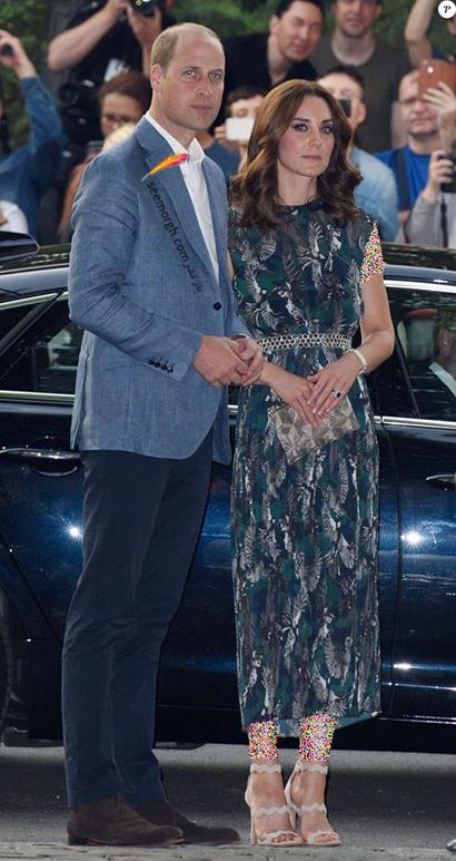 مدل کفش تابستانی به سبک کیت میدلتون Kate Middleton - مدل شماره 7