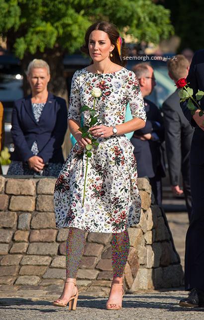 مدل کفش تابستانی به سبک کیت میدلتون Kate Middleton - مدل شماره 4