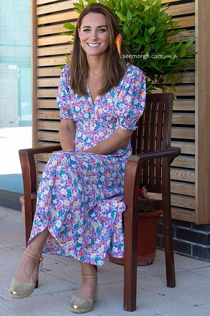 مدل کفش تابستانی به سبک کیت میدلتون Kate Middleton - مدل شماره 2