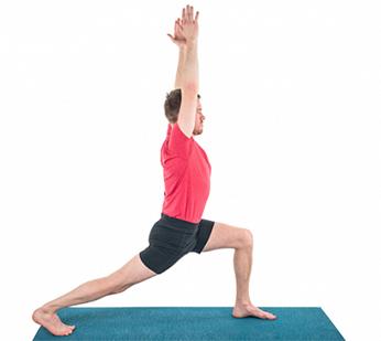 لاغری شکم و پهلو با حرکت جنگجو,لاغری شکم و پهلو با چند تمرین ساده یوگا در خانه