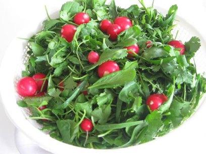تازه کردن سبزی پژمرده با چند ترفند ساده خانگی!!