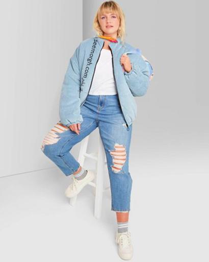 شلوار جین مام استایل از برند Zara, 7 مدل برتر شلوار جین مام استایل در دنیای مد 2021
