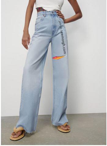 جدیدتین مدل شلوار جین زنانه زارا Zara برای بهار و تابستان 2021 - مدل شماره 8