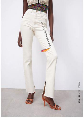 جدیدتین مدل شلوار جین زنانه زارا Zara برای بهار و تابستان 2021 - مدل شماره 7
