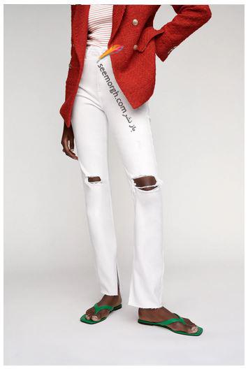 جدیدتین مدل شلوار جین زنانه زارا Zara برای بهار و تابستان 2021 - مدل شماره 2