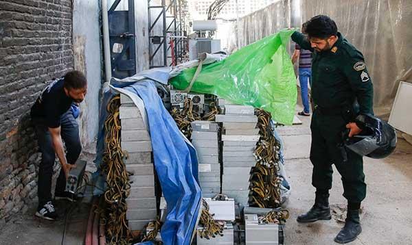 کشف بزرگترین مزرعه استخراج رمز ارز در تهران
