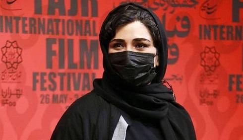 باران کوثری بازیگر فیلم «گیج گاه» در جشنواره جهانی فیلم فجر