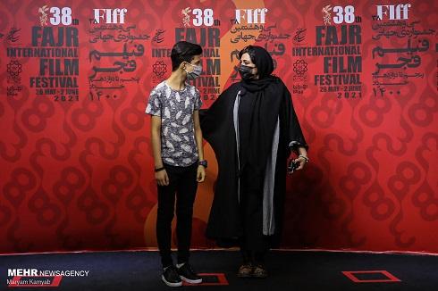 باران کوثری در جشنواره جهانی فیلم فجر