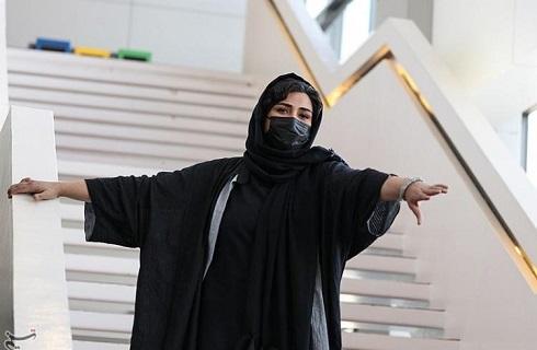 ژست های باران کوثری در جشنواره جهانی فیلم فجر