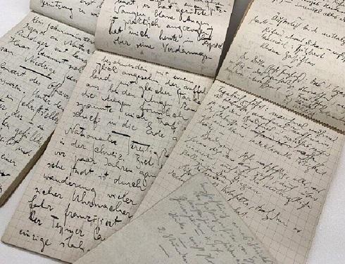 سفرنامه دستنویس کافکا از سفر به پاریس (۱۹۱۱)