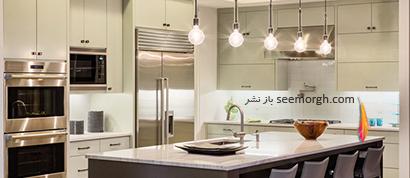 فضایی متفکرانه در دکوراسیون آشپزخانه,جدیدترین مدل های دکوراسیون آشپزخانه