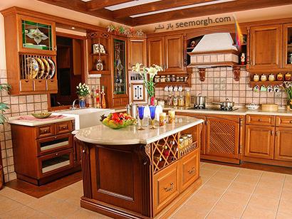 کاستن زاویه ها در دکوراسیون آشپزخانه,جدیدترین مدل های دکوراسیون آشپزخانه