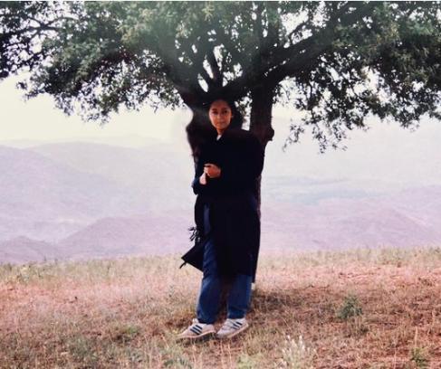 عکس نیکی کریمی 23 سال پیش