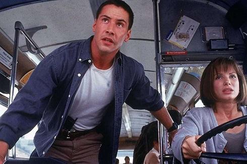 کیانو ریوز در فیلم سرعت