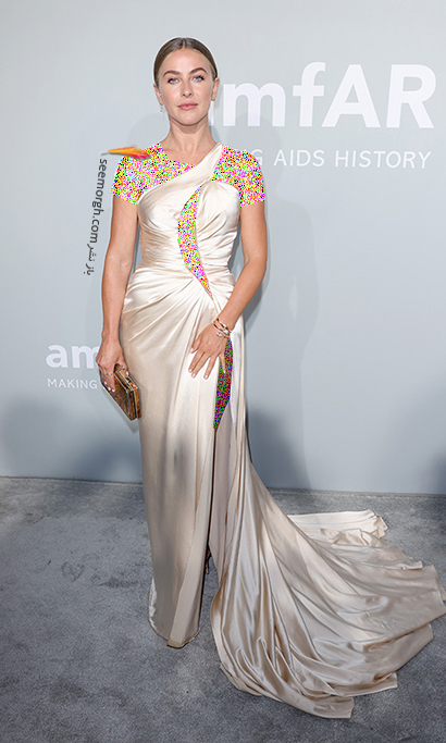مدل لباس جولیان هاف Julianne Hough در مراسم amfAR 2021