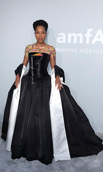 مدل لباس رجینا کینگ Regina King در مراسم amfAR 2021