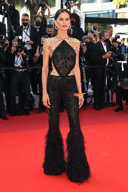 بهترین مدل لباس در جشنواره کن 2021 Cannes - ایزابل گولار izabel Goulart