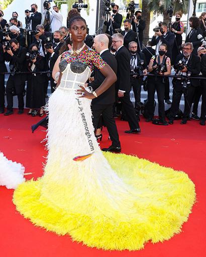 بهترین مدل لباس در جشنواره کن 2021 Cannes - جودی ترنر Jodie Turner