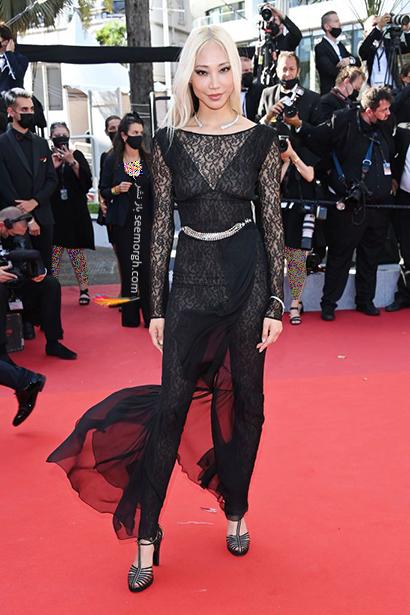 بهترین مدل لباس در جشنواره کن 2021 Cannes - سوجو پارک Soo Joo Park