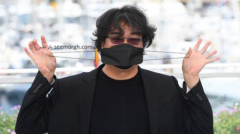 بونگ جون هو Bong Joon Ho کارگردان کره ای در جشنواره فیلم کن 2021