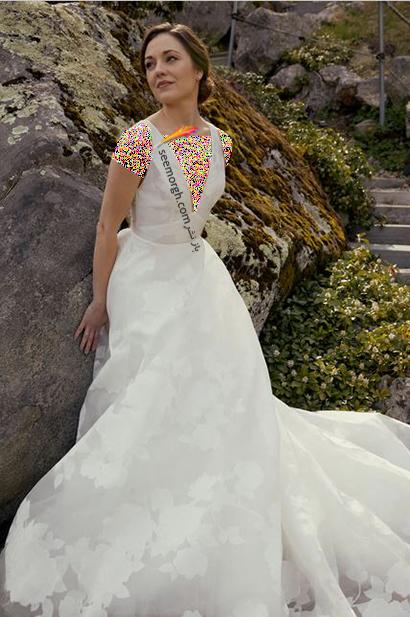 جدیدترین مدل لباس عروس برای تابستان 2021  - مدل شماره 1