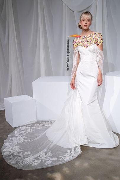 جدیدترین مدل لباس عروس برای تابستان 2021  - مدل شماره 8