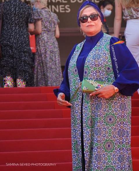 سه موسوی طراحی لباس گوهر خیر اندیش در جشنواره کن 2021 Cannes