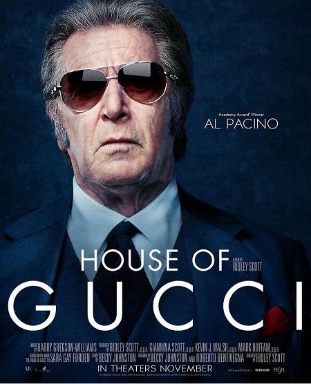 آل پاچینو روی پوستر فیلم خاندان گوچی